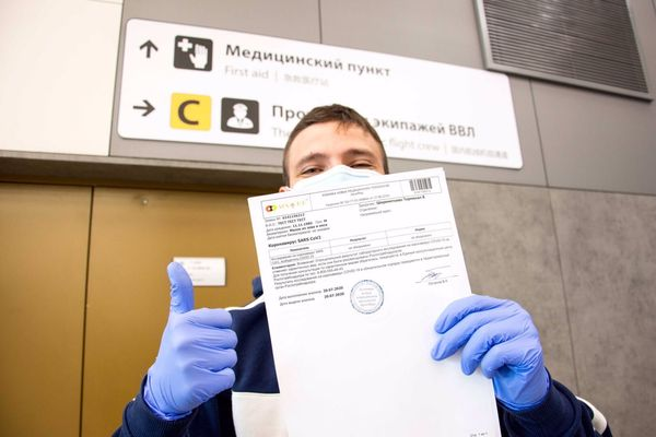 Тестирование на COVID-19 в российских аэропортах